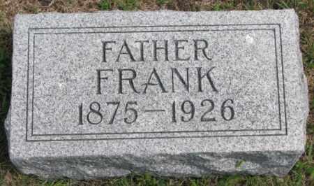 GERBER, FRANK - Cedar County, Nebraska | FRANK GERBER - Nebraska Gravestone Photos