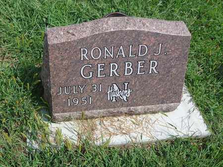 GERBER, RONALD J - Cedar County, Nebraska   RONALD J GERBER - Nebraska Gravestone Photos