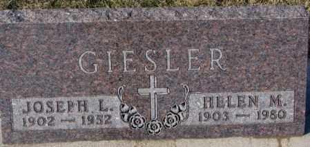 GIESLER, JOSEPH L. - Cedar County, Nebraska | JOSEPH L. GIESLER - Nebraska Gravestone Photos