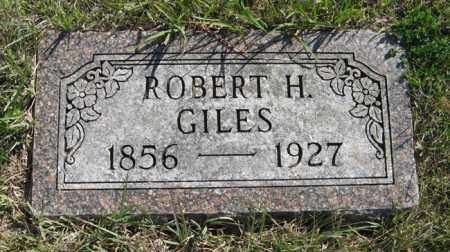 GILES, ROBERT H. - Cedar County, Nebraska | ROBERT H. GILES - Nebraska Gravestone Photos