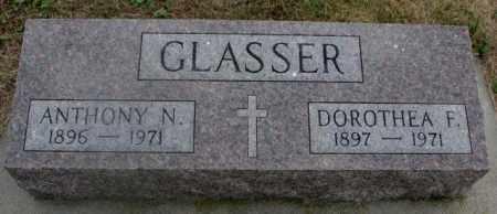 GLASSER, ANTHONY N. - Cedar County, Nebraska | ANTHONY N. GLASSER - Nebraska Gravestone Photos