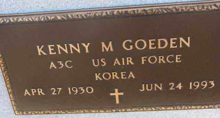 GOEDEN, KENNY M. (KOREA) - Cedar County, Nebraska | KENNY M. (KOREA) GOEDEN - Nebraska Gravestone Photos
