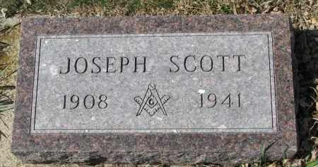 GORDON, JOSEPH SCOTT - Cedar County, Nebraska | JOSEPH SCOTT GORDON - Nebraska Gravestone Photos