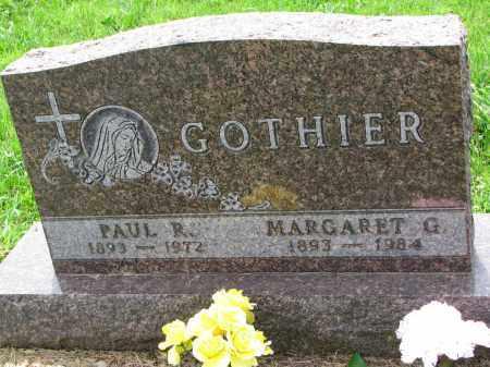 GOTHIER, PAUL R. - Cedar County, Nebraska   PAUL R. GOTHIER - Nebraska Gravestone Photos