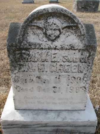 GREEN, FRANK E. - Cedar County, Nebraska   FRANK E. GREEN - Nebraska Gravestone Photos