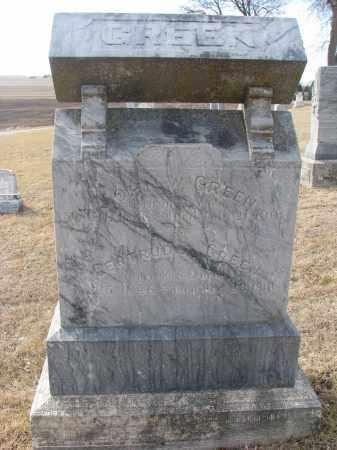 GREEN, GERTRUDE - Cedar County, Nebraska | GERTRUDE GREEN - Nebraska Gravestone Photos