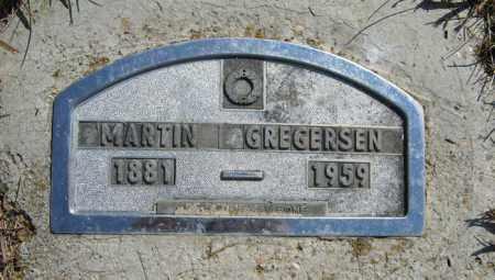 GREGERSEN, MARTIN - Cedar County, Nebraska | MARTIN GREGERSEN - Nebraska Gravestone Photos