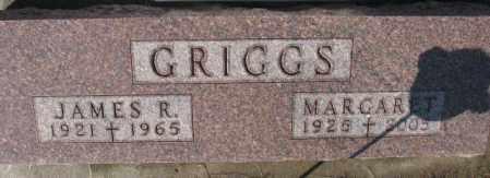 GRIGGS, MARGARET - Cedar County, Nebraska | MARGARET GRIGGS - Nebraska Gravestone Photos