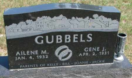 GUBBELS, AILENE M. - Cedar County, Nebraska | AILENE M. GUBBELS - Nebraska Gravestone Photos