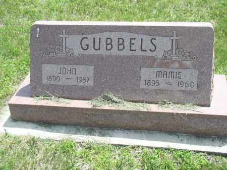GUBBELS, MAMIE THERESA - Cedar County, Nebraska | MAMIE THERESA GUBBELS - Nebraska Gravestone Photos