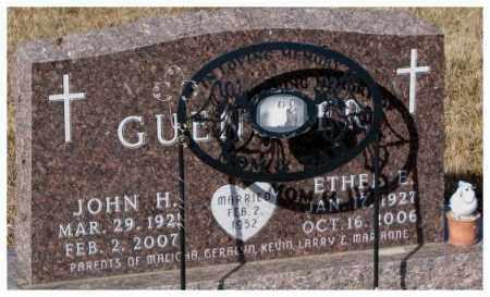 GUENTHER, JOHN H. - Cedar County, Nebraska   JOHN H. GUENTHER - Nebraska Gravestone Photos