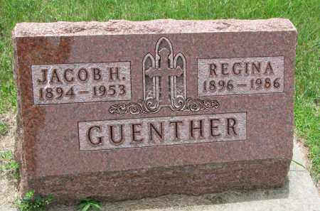 GUENTHER, REGINA - Cedar County, Nebraska | REGINA GUENTHER - Nebraska Gravestone Photos