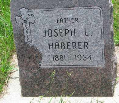 HABERER, JOSEPH L. - Cedar County, Nebraska | JOSEPH L. HABERER - Nebraska Gravestone Photos