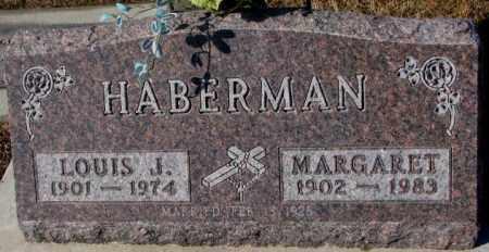 HABERMAN, MARGARET - Cedar County, Nebraska   MARGARET HABERMAN - Nebraska Gravestone Photos