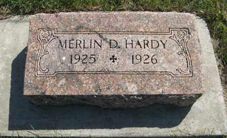 HARDY, MERLIN D. - Cedar County, Nebraska   MERLIN D. HARDY - Nebraska Gravestone Photos