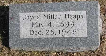 HEAPS, JOYCE - Cedar County, Nebraska   JOYCE HEAPS - Nebraska Gravestone Photos