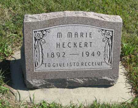 HECKERT, M. MARIE - Cedar County, Nebraska | M. MARIE HECKERT - Nebraska Gravestone Photos