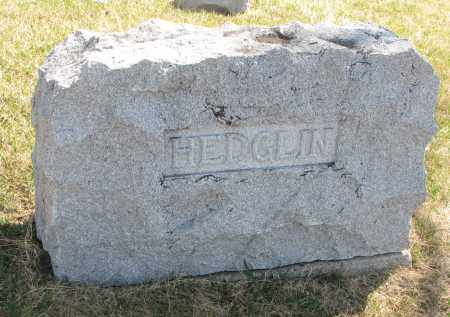 HEDGLIN, FAMILY STONE - Cedar County, Nebraska   FAMILY STONE HEDGLIN - Nebraska Gravestone Photos