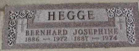 HEGGE, BERNHARD - Cedar County, Nebraska | BERNHARD HEGGE - Nebraska Gravestone Photos