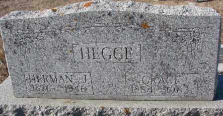HEGGE, HERMAN J. - Cedar County, Nebraska | HERMAN J. HEGGE - Nebraska Gravestone Photos