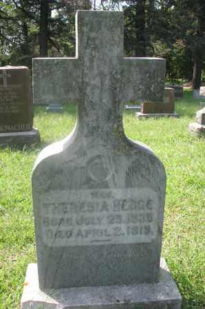 HEGGE, THERESIA A. - Cedar County, Nebraska   THERESIA A. HEGGE - Nebraska Gravestone Photos