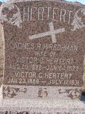HERTERT, VICTOR C. - Cedar County, Nebraska | VICTOR C. HERTERT - Nebraska Gravestone Photos