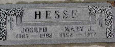 HESSE, JOSEPH - Cedar County, Nebraska | JOSEPH HESSE - Nebraska Gravestone Photos