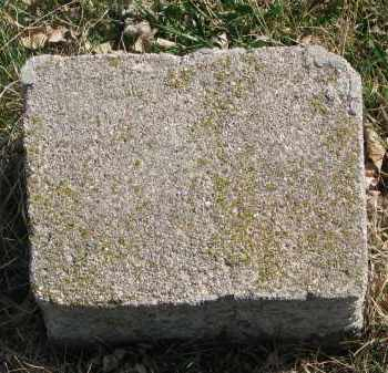 HILL ?, UNKNOWN - Cedar County, Nebraska | UNKNOWN HILL ? - Nebraska Gravestone Photos