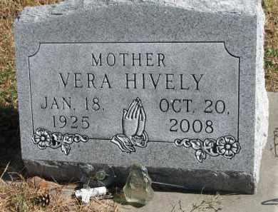 HIVELY, VERA - Cedar County, Nebraska | VERA HIVELY - Nebraska Gravestone Photos