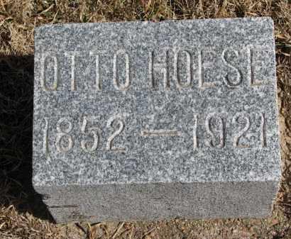HOESE, OTTO - Cedar County, Nebraska | OTTO HOESE - Nebraska Gravestone Photos