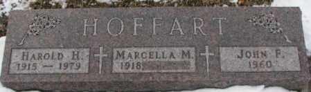 HOFFART, JOHN F. - Cedar County, Nebraska   JOHN F. HOFFART - Nebraska Gravestone Photos