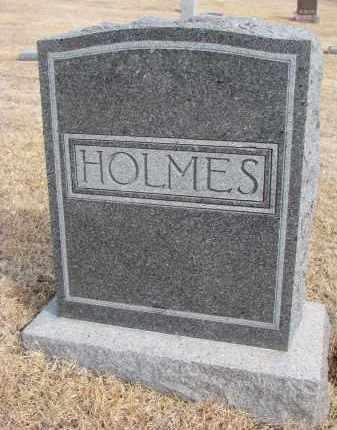 HOLMES, FAMILY STONE - Cedar County, Nebraska | FAMILY STONE HOLMES - Nebraska Gravestone Photos