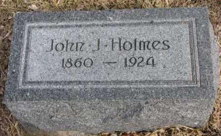 HOLMES, JOHN J. - Cedar County, Nebraska | JOHN J. HOLMES - Nebraska Gravestone Photos