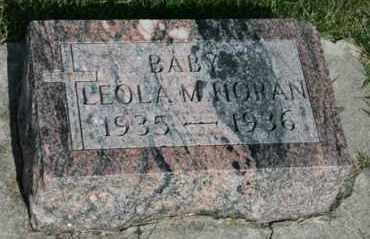 HORAN, LEOLA M - Cedar County, Nebraska | LEOLA M HORAN - Nebraska Gravestone Photos