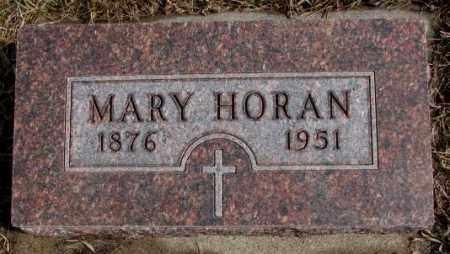 HORAN, MARY - Cedar County, Nebraska | MARY HORAN - Nebraska Gravestone Photos