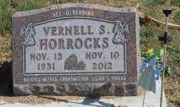 HORROCKS, VERNELL S - Cedar County, Nebraska | VERNELL S HORROCKS - Nebraska Gravestone Photos