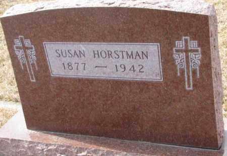 HORSTMAN, SUSAN - Cedar County, Nebraska | SUSAN HORSTMAN - Nebraska Gravestone Photos