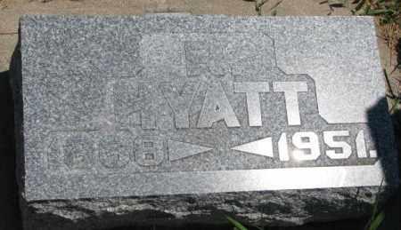 HYATT, R. - Cedar County, Nebraska | R. HYATT - Nebraska Gravestone Photos