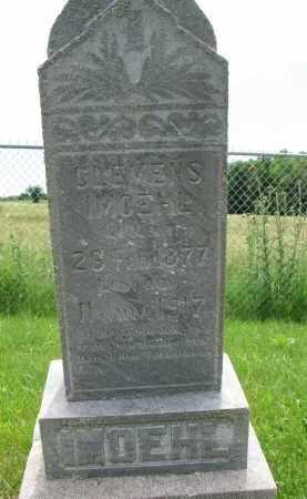 IMOEHL, CLEMENS - Cedar County, Nebraska | CLEMENS IMOEHL - Nebraska Gravestone Photos