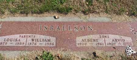 ISRAELSON, LOUISA - Cedar County, Nebraska | LOUISA ISRAELSON - Nebraska Gravestone Photos