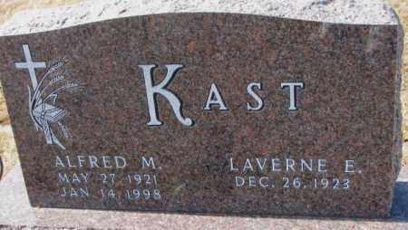 KAST, ALFRED M. - Cedar County, Nebraska | ALFRED M. KAST - Nebraska Gravestone Photos