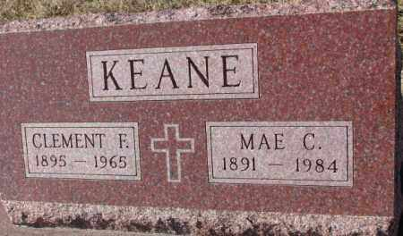 KEANE, MAE C. - Cedar County, Nebraska   MAE C. KEANE - Nebraska Gravestone Photos