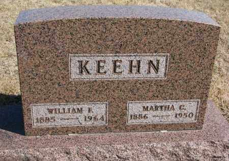 KEEHN, WILLIAM F. - Cedar County, Nebraska | WILLIAM F. KEEHN - Nebraska Gravestone Photos