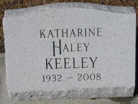 KEELEY, KATHARINE - Cedar County, Nebraska | KATHARINE KEELEY - Nebraska Gravestone Photos