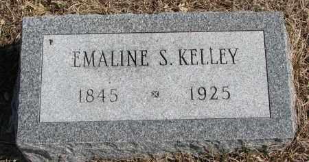 KELLEY, EMALINE S. - Cedar County, Nebraska | EMALINE S. KELLEY - Nebraska Gravestone Photos