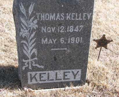 KELLEY, THOMAS - Cedar County, Nebraska | THOMAS KELLEY - Nebraska Gravestone Photos