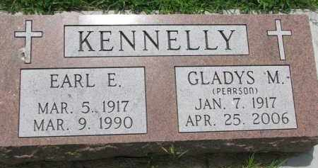 KENNELLY, EARL E. - Cedar County, Nebraska | EARL E. KENNELLY - Nebraska Gravestone Photos