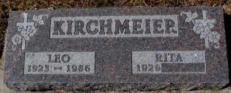 KIRCHMEIER, LEO - Cedar County, Nebraska | LEO KIRCHMEIER - Nebraska Gravestone Photos