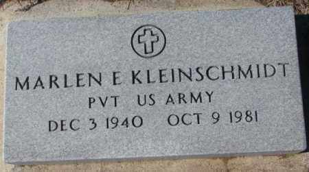 KLEINSCHMIDT, MARLEN E. - Cedar County, Nebraska | MARLEN E. KLEINSCHMIDT - Nebraska Gravestone Photos