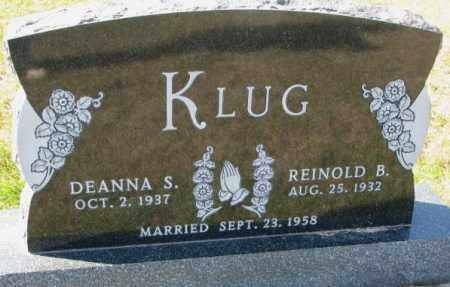 KLUG, DEANNA S. - Cedar County, Nebraska | DEANNA S. KLUG - Nebraska Gravestone Photos